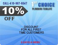 Plumbing Discount Special by Plumbing Cmopany Baltimore