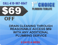 Baltimore drain cleaning special